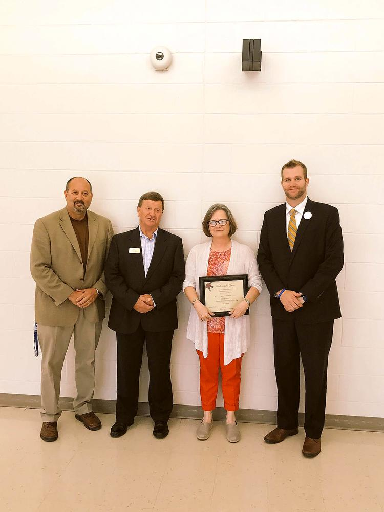 SCHS Science Teacher named AREA Educator of the Year