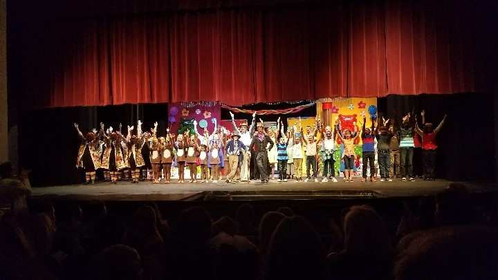 "SCSD Students perform in ""Willy Wonka and the Chocolate Factory"""